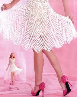 Craft fun and enjoyment: dresses in crochet
