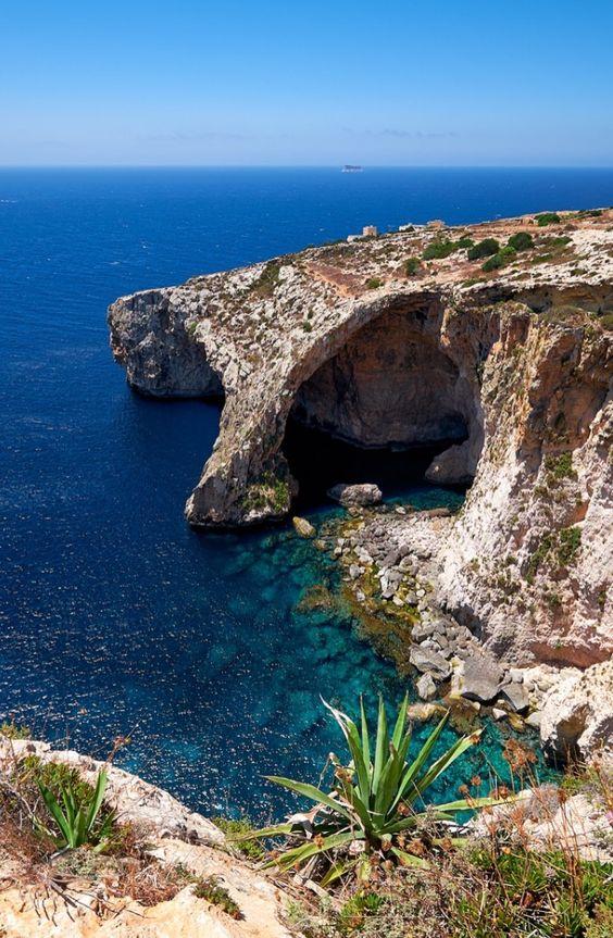 Blue Grotto, Capri, Italy