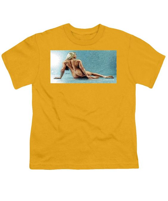 Youth T-Shirt - Woman In A Flattering Pose