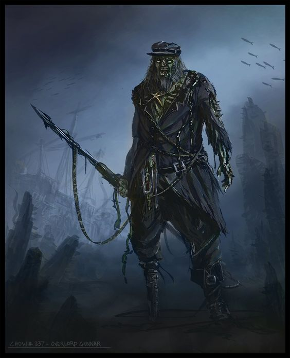 Image result for captain ahab concept art