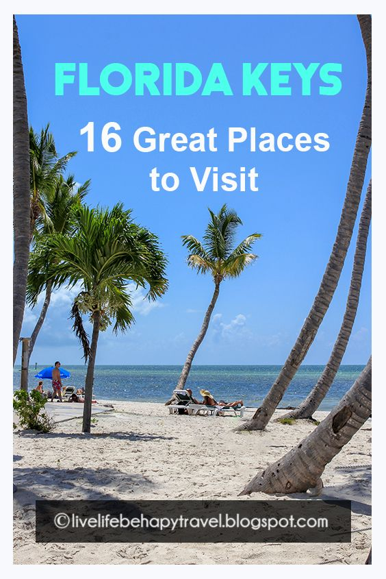 16 Great Places To Visit In The Florida Keys Key Largo Key West Beaches Things To Do Best Places In Florida Florida Keys Beaches Places To Visit