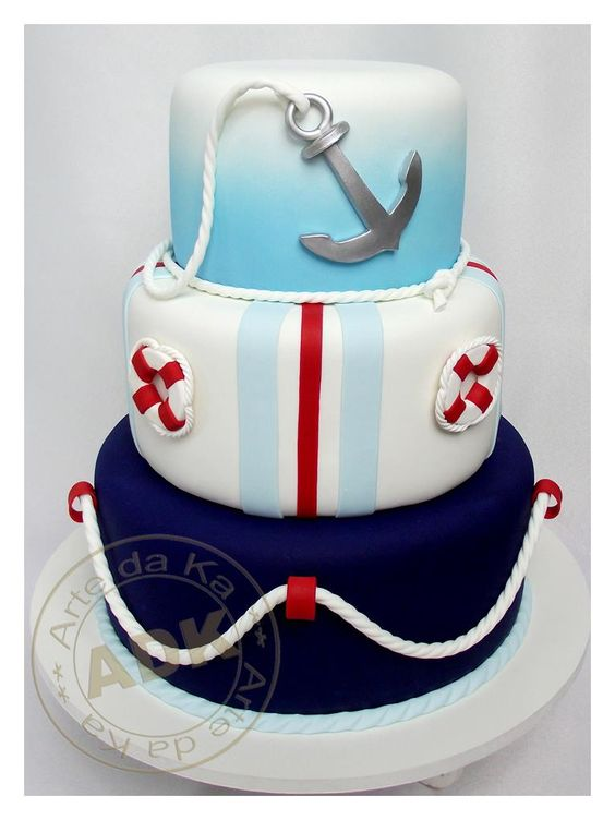 Nautical Cake I love auctions:
