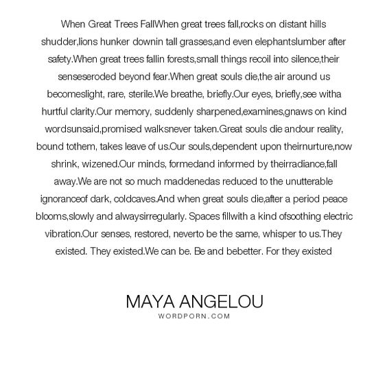 maya angelou essay poetry Maya angelou a phenomenal literary poet what distinguishes maya as a writer is the fact that, almost all of her work is based on real life experiences she underwent from her childhood to adult life.