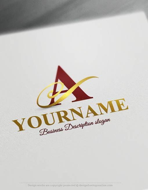 Free Logo Maker Alphabet Logo Templates Get Your Logo