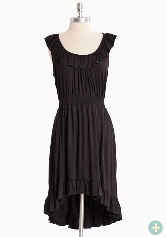 Island Getaway Curvy Plus Dress In Black