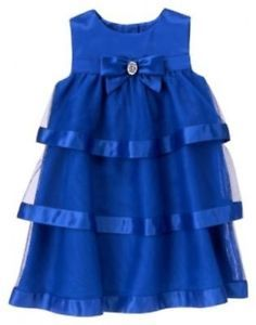 Emmersyn's Christmas dress :) NWT Gymboree Royal Holiday Gem Bow Sateen Tulle Dress Size 6-12-18-24 mos 2T 3T