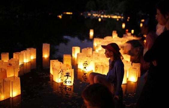 Boston festival lanternes