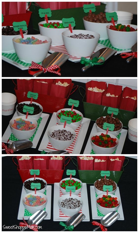 Sweet Shoppe Mom: Holiday Family Movie Night Snack Buffet { tutorial + tip } #GiveHappiness #ad @cocacola