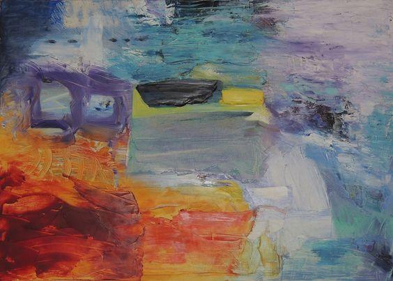 Alessandra Bisi | on Tumblr - Sogno Australe. Oil on canvas, 70x50 (2008)