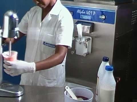 ALPHAGEL: vídeo curso de sorveteiro milk shake cobertura mais cobertura