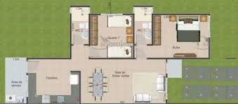 Resultado de imagen para planosdecasa 1piso 2 habitaciones