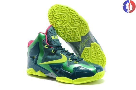 Womens Nike LeBron 11 Tyrannosaurus Basketball Shoes