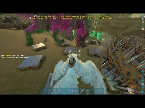 Ark Official Server Grief Reflection On Valguero 568 With Meta Grief Ark Reflection