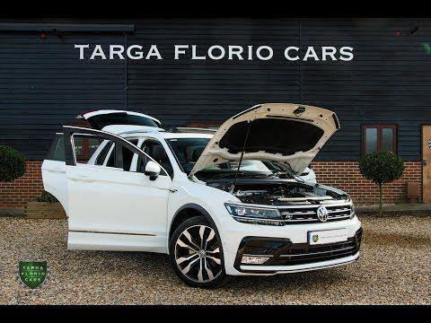 Volkswagen Tiguan R Line 2 0 Tsi Bmt 4motion 180ps Dsg Automatic In Pure White Youtube Tiguan R Line Volkswagen Tiguan R