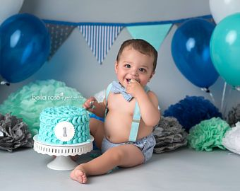 Stupendous Baby Boy First Birthday Outfit Boy Cake Smash Outfit Baby Boy Personalised Birthday Cards Epsylily Jamesorg