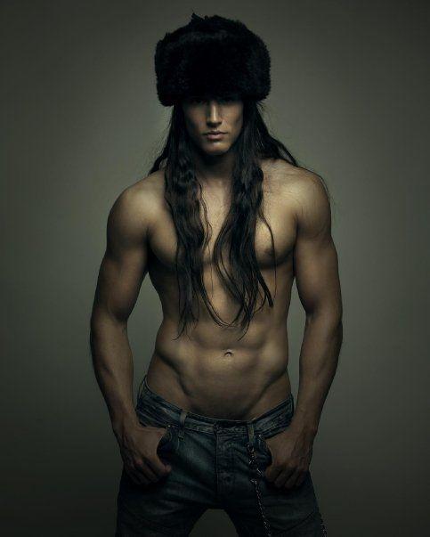 "Ramón Puñet by Ruben Dario in ""Oh my god!"" (April 2010) #RamonPunet #RubenDario #malemodel #model #ohmygod #hair #abs #jeans"