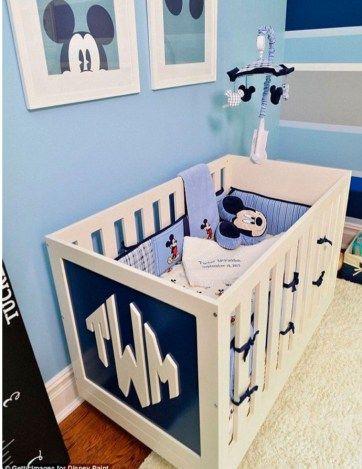 decoracao-quarto-infantil-disney-mickey-azul