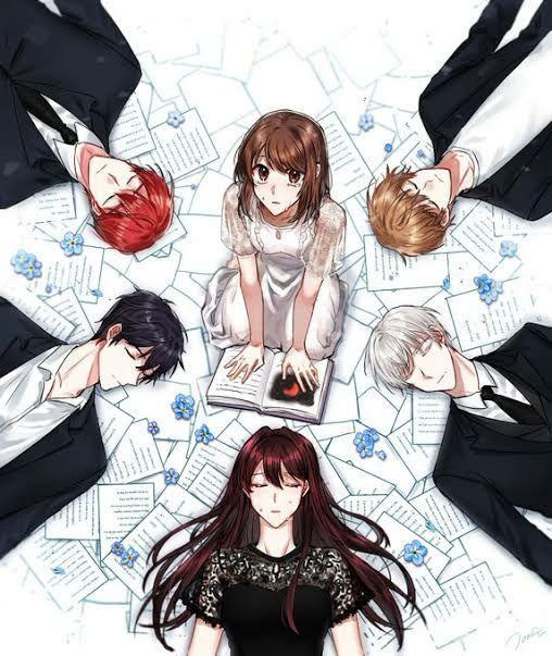 Hukum Dunia Web Novel S1 Ilustrasi Komik Gambar Pasangan Anime Animasi