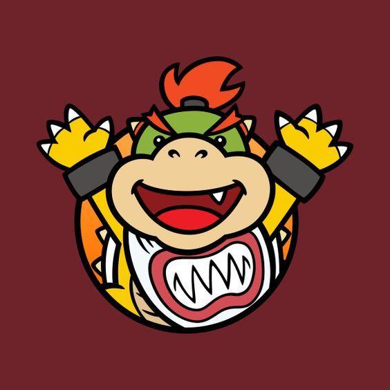 Bowser Jr Drawing By Snespix Teepublic Mario Super Mario Art Mario Art Super Mario Bros Party