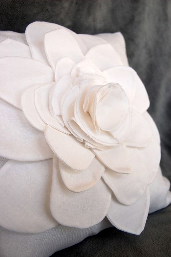 shabby white flower pillow. I have one and i loveeeee it