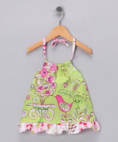 Halter top for little girls