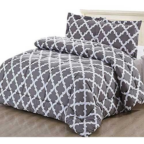 Top 10 Best Comforters For Hot Sleepers In 2018 Reviews Cool Comforters Comforter Sets Grey Comforter Sets