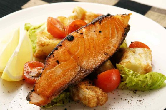 Salmon Steak -
