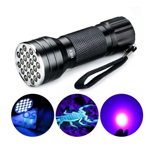 2 57 Ywxlight Uv 21 Leds 395nm Ultra Violet Torch Led Flashlight Light Lamp Detector For Dog Urine Pet Stains Https Led Flashlight Torch Light Led Night Lamp