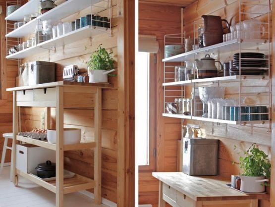 Casa de madera de vacaciones en finlandia pinterest for Decoracion de interiores madera