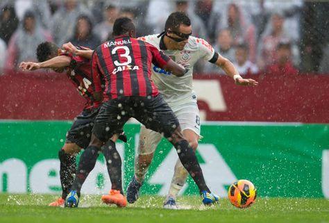 Sport Club Corinthians Paulista - Match against Atlético Paranaense