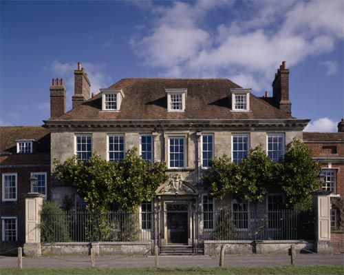 Mompesson House in Salisbury, Wiltshire (Lady Lorraine Henley's Residence)