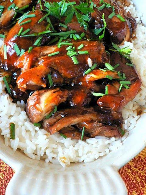 Crock pot Teryaki Chicken