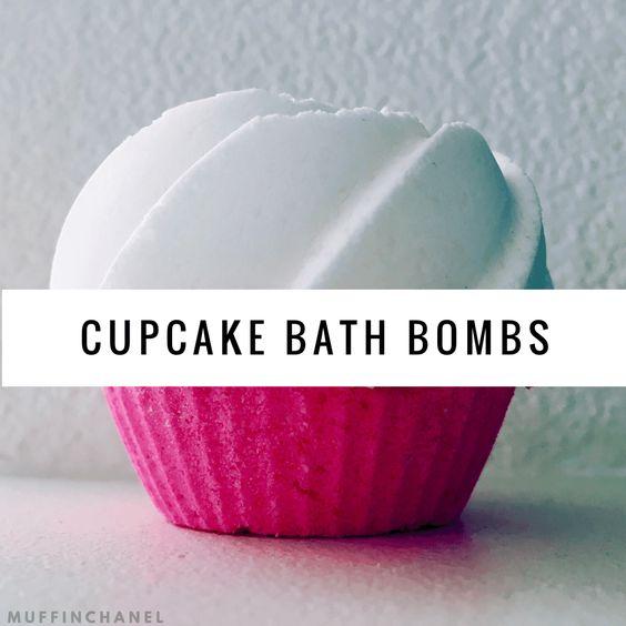 cupcake bath bombs bath bombs diy cupcake bath cupcake the cutest love ...