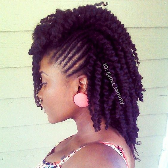 Liking the side twists and the SUPER DEFINITION #twistout by @mz_tammy #weluvnaturals #naturalhair #brownbeauty