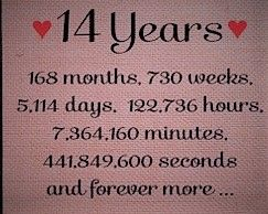 14 Years 168 Months Wedding Anniversary Quotes Love Anniversary Quotes Anniversary Quotes Funny