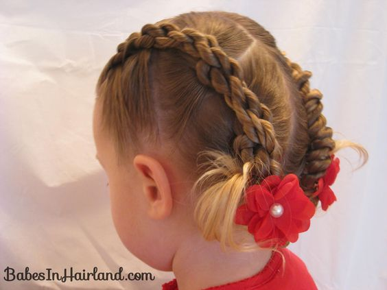 4 Rope Braid Twisted Hairstyle | Babes In Hairland