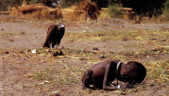 Prêmio Pulitzer, Fome no Sudão, 1993, Kevin Carter, suicídio