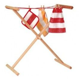 Kid's Wooden Clothes Drying Rack. Made in Germany. $34.95