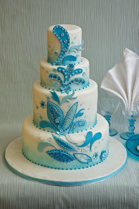 turquoise blue and white wedding cakes blue bridesmaids blue bridesmaid dresses 21306