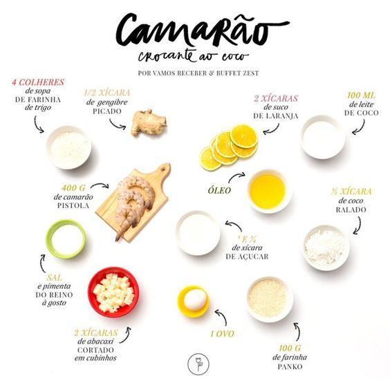 Receita fácil de camarão crocante