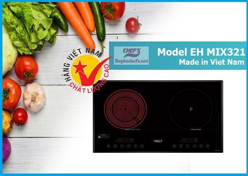 Giá bán của bếp điện từ Chefs EH MIX321 mới nhất