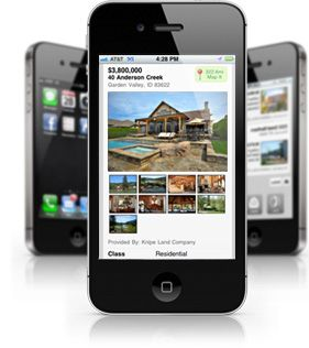 Find your dream home on the go - easy to use mobile property search