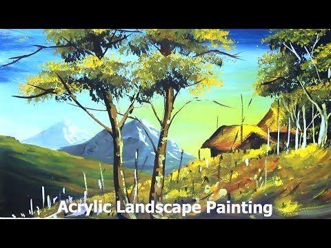 Acrylic Landscape Painting Nature Drawing Easy Landscape Paintings Nature Drawing Landscape Paintings Acrylic