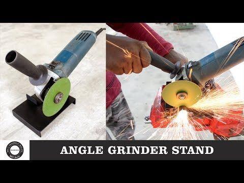 2315 Make A Homemade Angle Grinder Stand Angle Grinder Attachment Grinder Hack Diamleon Diy Builds Yo Angle Grinder Stand Grinder Stand Angle Grinder