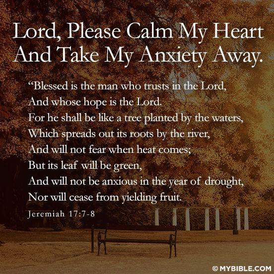Lord Please Calm My Heart