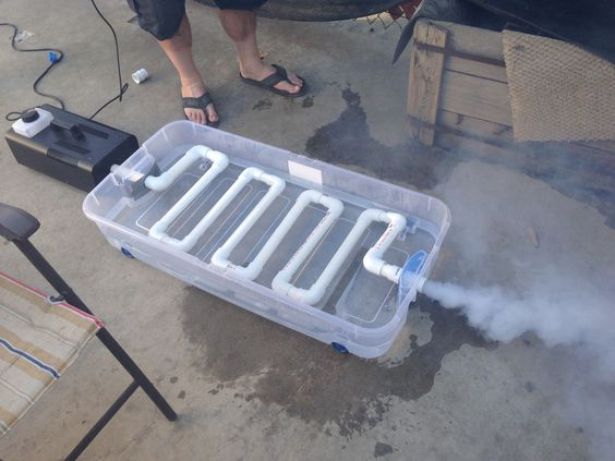 how to build a fog machine