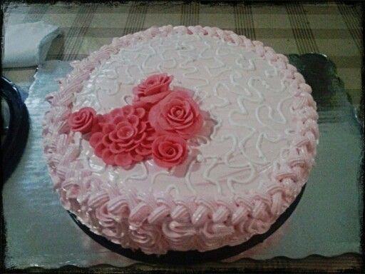 Cake merengue  Durazno