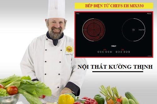 Ưu điểm vượt trội của bếp điện từ Chefs EH MIX330