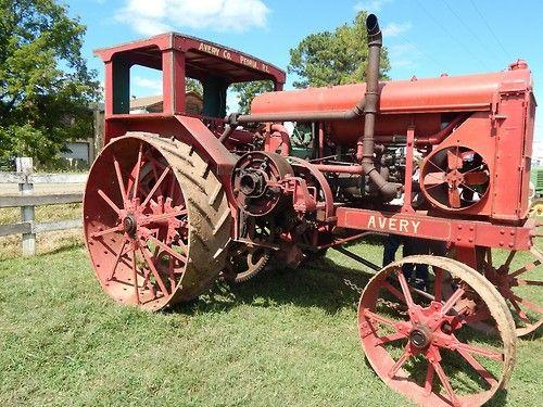 Antique Tractor Steel Wheels : Truckingworldwide avery steel wheel tractor
