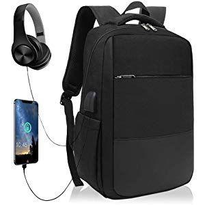 """Voyage Hommes Sac à dos pour ordinateur portable sac 15.6/"""" USB Recharge Anti Vol cartable"""